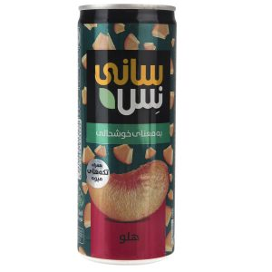 Sunny Ness Peach With Fruit Pieces 240ml