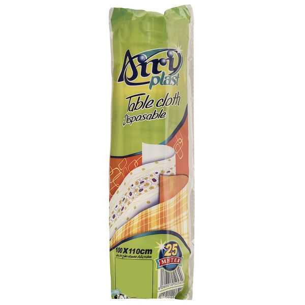 Airi Plast Tablecloth Disposable - Roll Of 25m