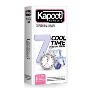 Kapoot 7Cool Time Condoms 12PSC