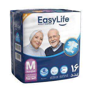Easy Life Medium Adult Protective Diaper 16 pcs